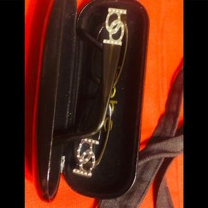 Bebe eyeglass frames with case